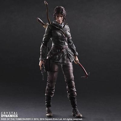 Playstation4 Rise of the Tomb Raider Lara Croft 25cm Action Figure NEW BOXED