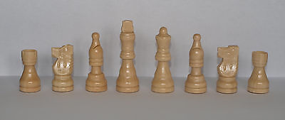 Wooden Chess Set pieces