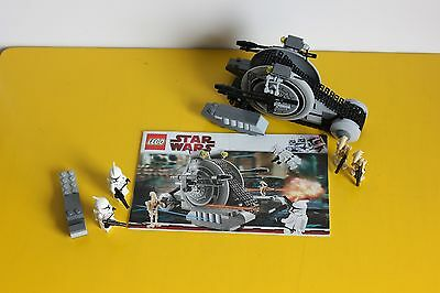 Lego Star Wars Set 7748 Corporate Alliance Tank Droid EXC COND **COMPLETE**