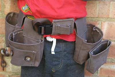 Toddler's Tool Belt or Child's Tool Belt, Handmade Child/Toddler DIY Belt