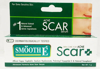 Smooth E For Acne Scar Serum 7 g Healing Soothing Herbal Sensitive Skin New