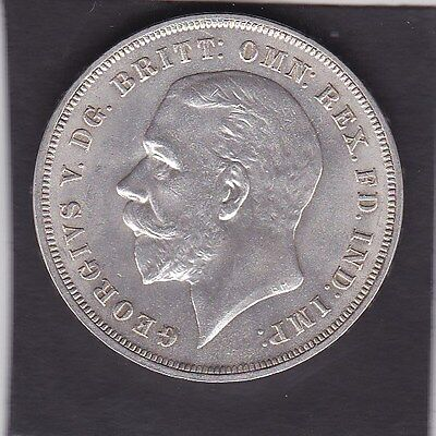 GB  1935  George V Crown  Almost uncirculated