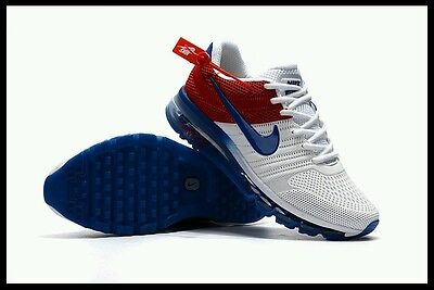 All size - Nike Air Max 2017 Blue White Men's Running Sneaker Shoes