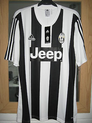 Bnwt Official Adidas Juventus Players Home  Football Shirt - Mens Large