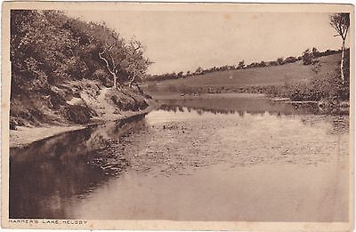 HARMER'S LAKE, HELSBY - OLD CHESHIRE POSTCARD (ref 1969/16)