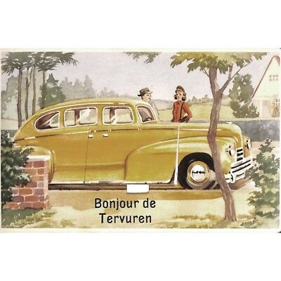 "Tervueren - ""Bonjour de Tervuren"" carte pop-up."
