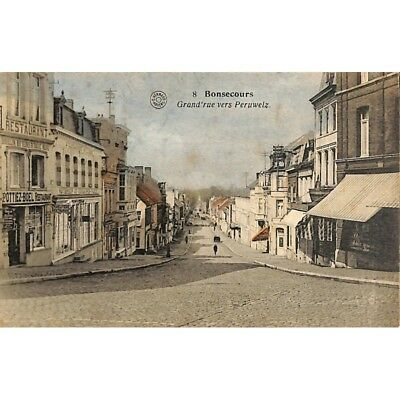Bonsecours - Grand'rue vers Peruwelz.