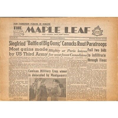 The Maple Leaf. 1944/12/06. Vol.2 N°70.