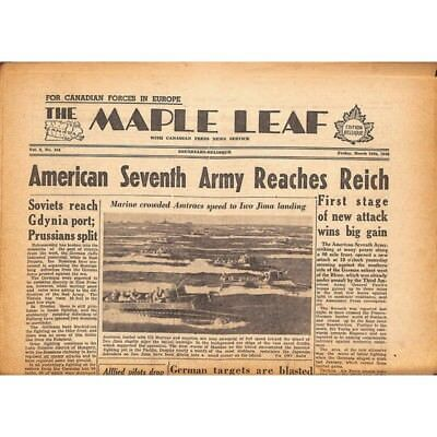 The Maple Leaf. 1945/03/16. Vol.2 N°154.