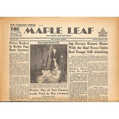 The Maple Leaf. 1945/08/21. Vol.3 N°126.