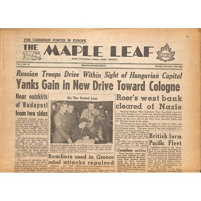 The Maple Leaf. 1944/12/11. Vol.2 N°74.