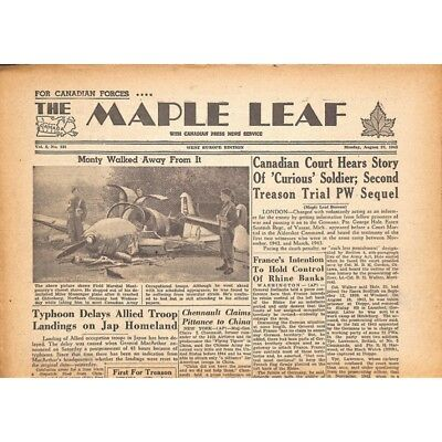 The Maple Leaf. 1945/08/27. Vol.3 N°131.