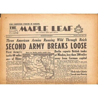 The Maple Leaf. 1945/03/29. Vol.3 N°4.