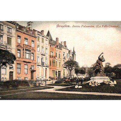 Saint-Josse-ten-Noode - Avenue Palmerston. (La Folle Chanson).