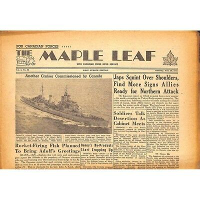 The Maple Leaf. 1945/06/30. Vol.3 N°83.