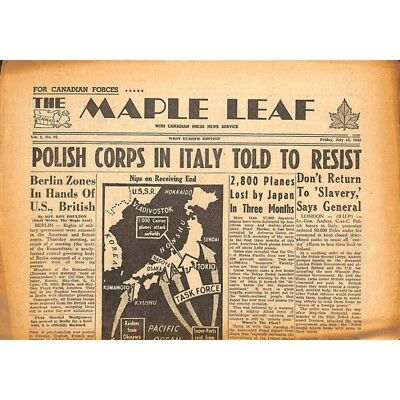 The Maple Leaf. 1945/07/13. Vol.3 N°94.