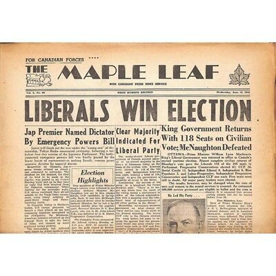 The Maple Leaf. 1945/06/13. Vol.3 N°68.