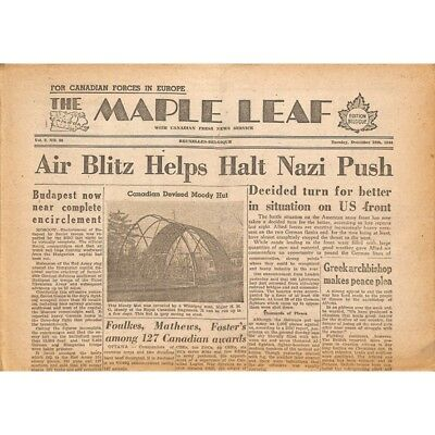 The Maple Leaf. 1944/12/26. Vol.2 N°86.