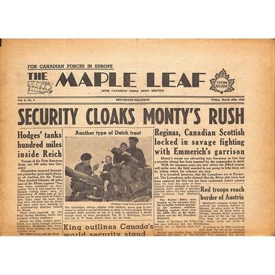 The Maple Leaf. 1945/03/30. Vol.3 N°5.