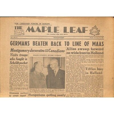The Maple Leaf. 1944/11/06. Vol.2 N°44.