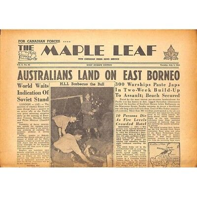 The Maple Leaf. 1945/07/03. Vol.3 N°85.