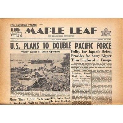 The Maple Leaf. 1945/06/04. Vol.3 N°60.