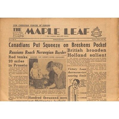 The Maple Leaf. 1944/10/23. Vol.2 N°32.