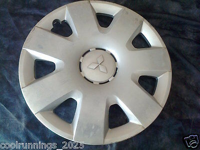 "Genuine Mitsubishi 16"" Hub Cap Wheel Trim Cover P/n 4252 A044 Lancer"
