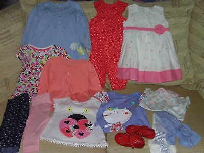 Baby Girl Bundle 9-12 Months 12 Items