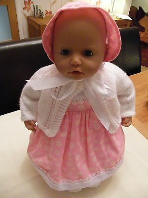 Dolls outfit for Annabelle/Baby Born/Reborn or similar size doll