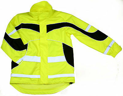 equisafety lightweight hi-vis jacket - rider safety wear