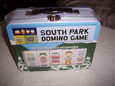 South Park Domino Game ~ Collectible Metal Tin ~ Factory Sealed, NEW