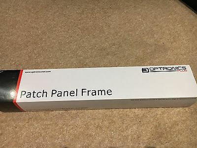"Optronics unloaded 19"" patch panel 24 port for mounting"