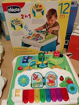 Baby activity table in near perfect condition - Chicco Shape and Music Table