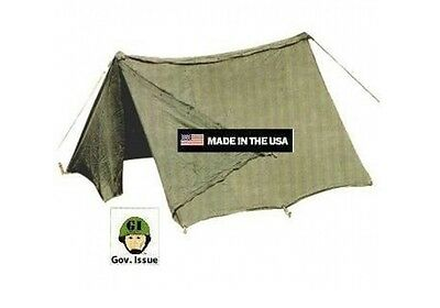 US ARMY Military Zweimannzelt Zelt 2 person Infantry tent