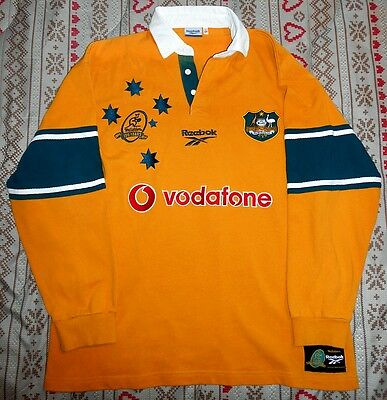 """Australia rugby shirt, """"centenary 1899 - 1999 edition"""", size L"""
