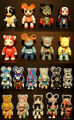 Toy2R Qee oxop Full Set - Artists list below (ORIGINAL BOXES MISSING)