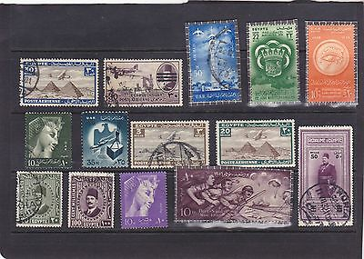 Stamps of Egypt.