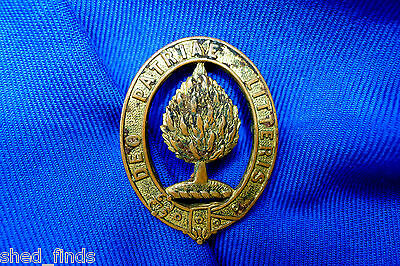 Vintage Circa 1925 Scotch College Badge; Brass/lugged/numbered. Marked: Stokes.