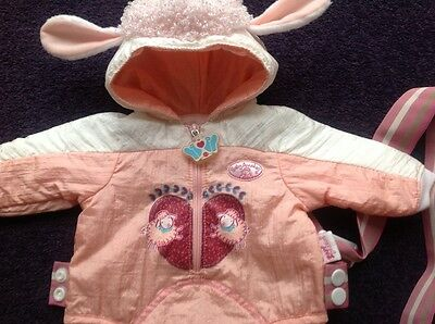 Baby Annabell Dolls Sheep Suit / Sling / Carrier - Zapf Creations Original
