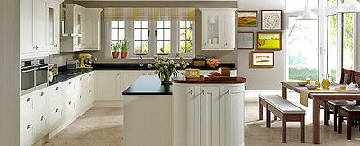 Ivory Kitchen with in Frame solid Oak Shaker Doors...appliances included!