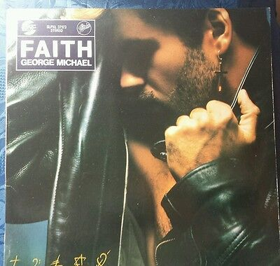 Rare George Michael Faith Hungarian promo lp on GoingEpic Label