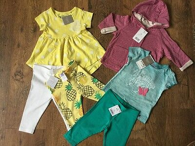 Next  Baby Girls Clothes Bundle Outfit Brand New With Tags 3-6 Months