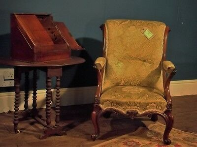 Beautiful Antique rose wood Armchair/Fireside/Cottage Chair