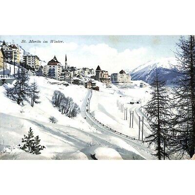 Saint-Moritz - in Winter.