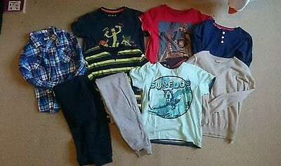 bundle of boys clothes age 7-8 years