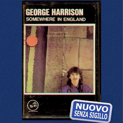 "George Harrison "" Somewhere In England "" Musicassetta Nuova (Mc - K7)"