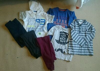bundle of boys clothes 8-9 years