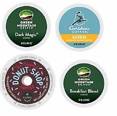 Keurig K-Cup Coffee Assortment / Lot of 96