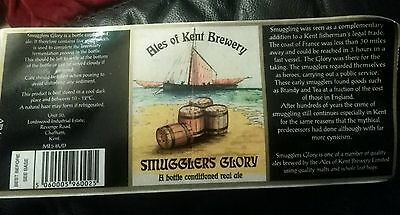 British beer label Smugglers Glory by Ales of Kent